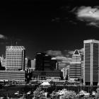 Baltimore Inner Harbor Pano in Infrared