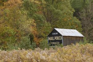 Mail Pouch Barn Advertising - October 2015